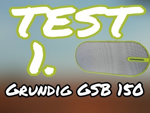 video Grundig GSB 150 Bluetooth Hoparlör
