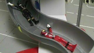 đồ chơi siêu nhân Cơ Động trượt Power Rangers RPM Toys 파워레인저 엔진포스 장난감