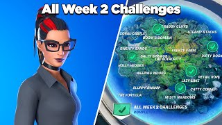Fortnite All Week 2 Challenges Guide (Fortnite Chapter 2 Season 4)
