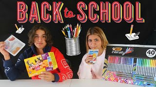 MYSTERY BOX OF BACK TO SCHOOL SWITCH UP CHALLENGE !!!