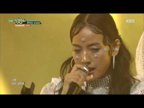 뮤직뱅크 Music Bank - White snake - 이효리(Feat. Los) (White snake - LEE HYO RI(Feat. Los)).20170707