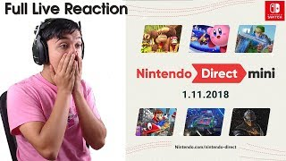 Full Nintendo Direct Mini 1.11.2018 Live Reaction