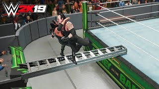 WWE 2K19 Top 10 Extreme End Of Days!