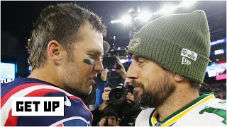 The GOAT & the BOAT?! Predicting Tom Brady vs. Aaron Rodgers | Get Up