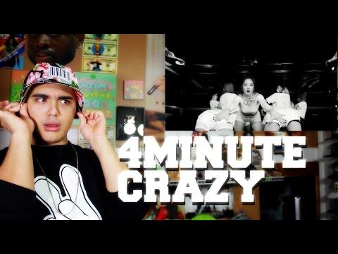 4MINUTE - Crazy MV Reaction DAT BEAT DOE!