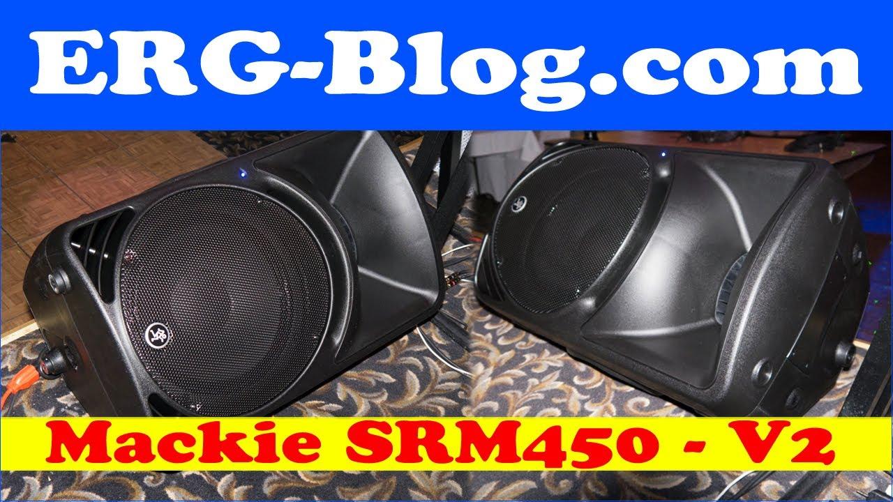 mackie srm450v2 speakers review youtube. Black Bedroom Furniture Sets. Home Design Ideas