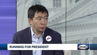 CloseUp: Presidential candidate Andrew Yang advocates universal basic income
