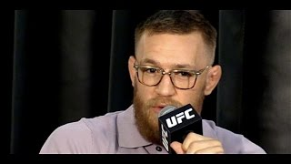 Conor McGregor Raw and Unedited UFC 202 Media Day Interview