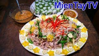 Thịt heo xào chuối khế | Món ngon miền tây [Miền Tây TV]