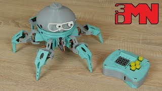 Vorpal - 3D Printed Robotic Arduino Based Hexapod