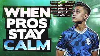 WHEN CS:GO PROS STAY CALM! (INSANE TRIGGER DISCIPLINE)