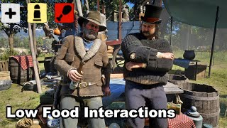 Low Food Supply - Camp Conversations  / Interactions and Hidden Dialogue / Red Dead Redemption 2