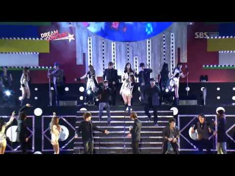 SM Town  Let's Go On A Trip  @ Dream Concert 091011 【LIVE】