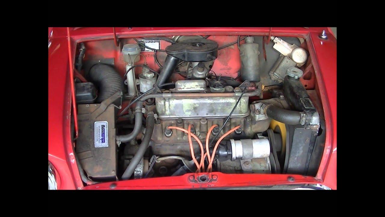 1967 Australian Morris Mini Minor- Start up