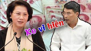 Thống đốc NHNN Lê Minh Hưng cãi nhau tay bo với Thím Ngân giữa nghị trường về chuyện tiền nong