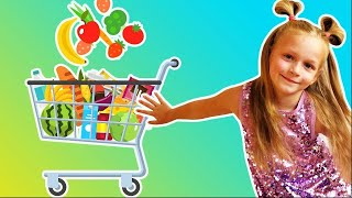 The best baby music - lets go shopping. Independent baby.  Supermarket song.