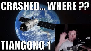 TIANGONG-1 Crashed In One Weird Place...
