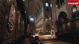 Secret visit of Notre-Dame roof and frame (English) - Toute L'Histoire