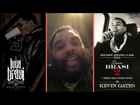 Kevin Gates Speaks On Luca Brasi 3 and Squaring Up With Somebody While He Was In Jail/Prison (2018)