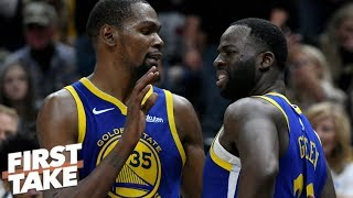 Draymond Green, Kevin Durant heated exchange not a bad thing - Max Kellerman | First Take