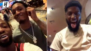 Paul George & Clippers Team React to Kawhi's Decision & Trade!