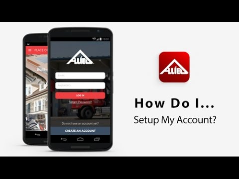 How Do I... Setup My Account?