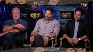Magic Mike XXL Uncensored w/Channing Tatum, Matt Bomer, Donald Glover, Joe Manganiello & cast