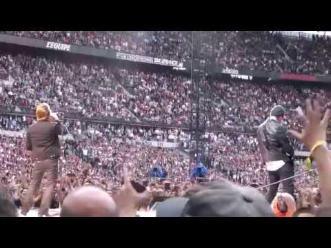 U2 Sunday Bloody Sunday, Paris 2017-07-26 - U2gigs.com