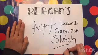 How To: Sketch Converse beginner style