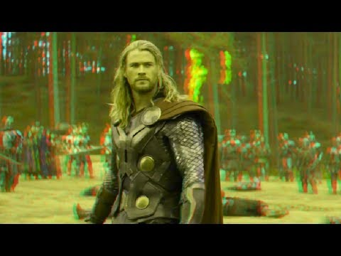 Thor:The Dark World - Clip (2013)(3D)(Side By Side) Battle of Vanaheim