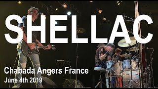 Shellac Live Full Concert 4K @ Chabada Angers France June 4th 2019
