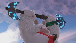 Mario + Rabbids Donkey Kong DLC - Mega Rabbid Kong Final Boss Fight and Ending