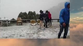 Snowfall In Shivapuri Village  || Kathmandu || Snowfall