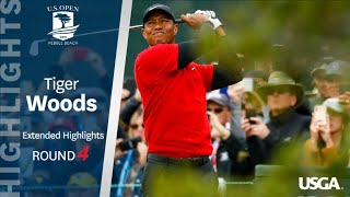 2019 U.S. Open: Tiger Woods Finishes With a Flourish