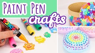 3 Posca Paint Pen Projects   Easy Paint Marker Crafts