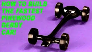 How to Build the Fastest Pinewood Derby Car - Part 1
