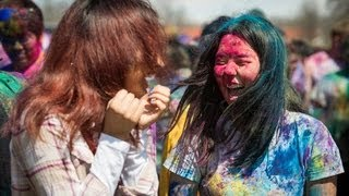 'Holi Festival of Colors - Pittsburg State University