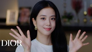 Jisoo from Blackpink Watching the Dior Spring-Summer 2021 Show