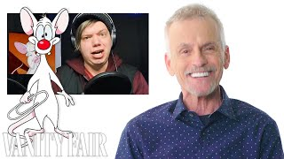 Rob Paulsen (Pinky and the Brain) Reviews Impressions of His Voices | Vanity Fair