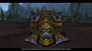 WoW BFA Patch 8.1 - Horde War Campaign - The Day Is Won Storyline!
