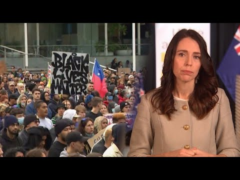 Jacinda Ardern tells off thousands who flouted social distancing rules at Black Lives Matter protest