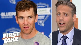 Eli Manning's OBJ clap back leaves Max Kellerman with mixed feelings | First Take