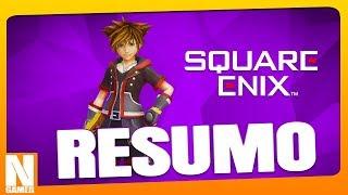 """RESUMO """"Conferência"""" SQUARE ENIX na E3 2018 - Noberto Gamer"""