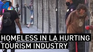 Homeless Badly Hurting Los Angeles' Tourism Industry, Experts Say | NBCLA