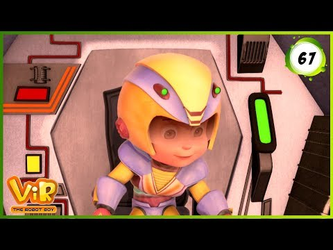 Vir: The Robot Boy | Earth in Trouble | Action cartoons for Kids | 3D cartoons