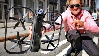 SELF FLYING ROBOT DRONE OF THE FUTURE; The Skydio R1
