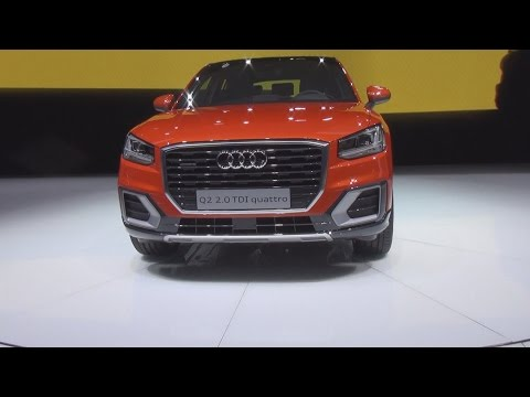 Audi Q2 2.0 TDI Quattro (2016) Exterior and Interior in 3D