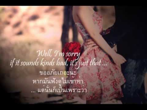 เพลงสากลแปลไทย Because I love you  ♥  Shakin Stevens (Lyrics & ThaiSub) ♪♫♥ ♪ ♥ ♫