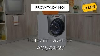 HOTPOINT - Lavatrice Slim AQS73D29 Aqualtis High Definition 7 Kg ...