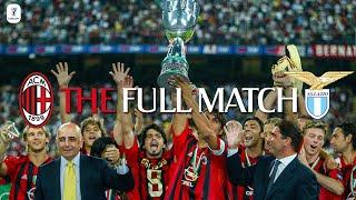 The Full Match   AC Milan 3-0 Lazio   Italian Supercoppa 2004